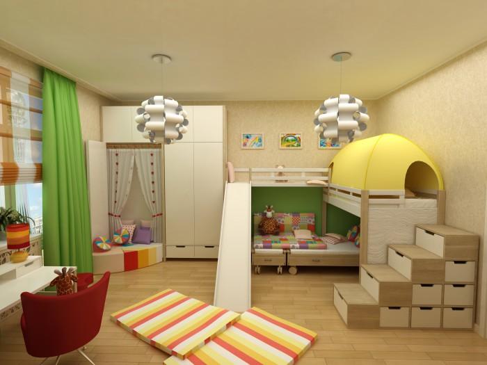 Des meubles pour enfants originaux pour le rangement